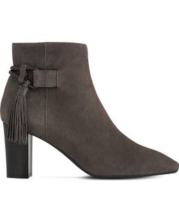 Charlotte Tasselled Suede Boots