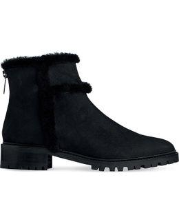 Thomasine Nubuck Ankle Boots