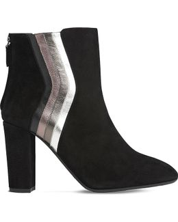 Serafina Suede Ankle Boots