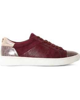 Egypt Suede And Leather Trainers