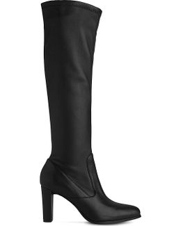 Marietta Knee-high Leather Boots