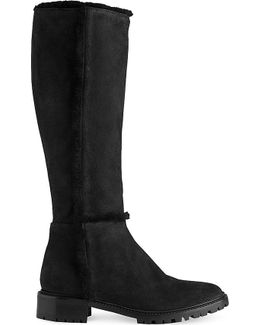 Timara Knee-high Nubuck Boots