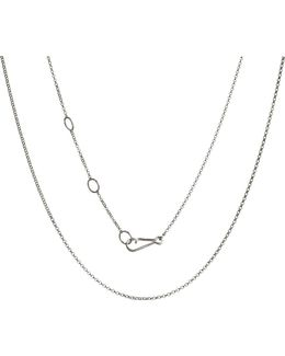 18ct White-gold Classic Mini Belcher Chain