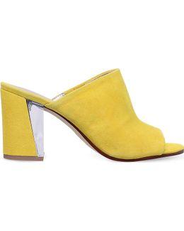 Gemily Faux-suede Sandals