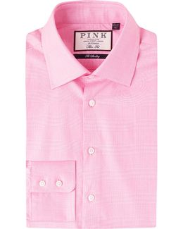 Anders Checked Slim-fit Cotton Shirt