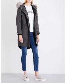 Cassie Shell Parka Coat