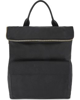 Verity Faux-leather Backpack