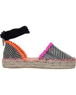 Dizzy Woven Espadrille Sandals