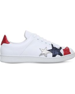Stars Leather Trainers