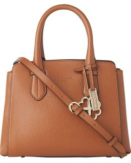 Cassandra Small Leather Tote Bag