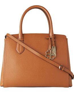 Catrina Saffiano Leather Tote Bag