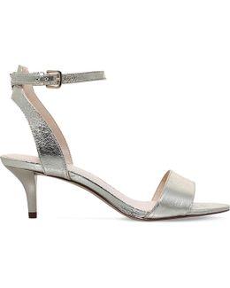 Lesia Metallic Sandals