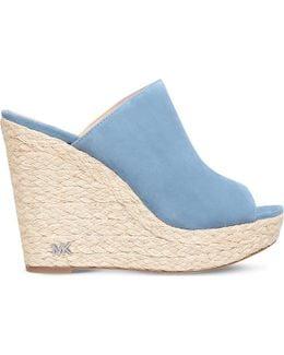Hastings Suede Wedge Sandals