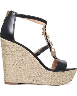 Suki Leather Platform Sandals
