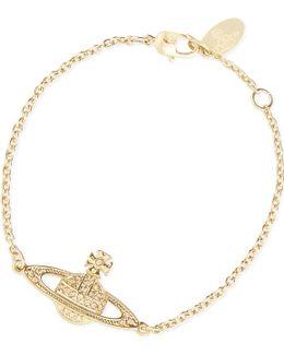 Bas Relief Diamanté Orb Bracelet