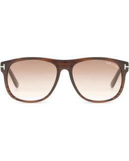 Tf0236 Olivier Square-frame Sunglasses