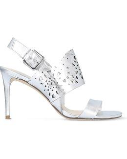Radhuni Leather Heeled Sandals