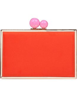 Gladly Suedette Clutch Bag