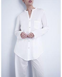 Deluxe Cotton-jersey Pyjama Set