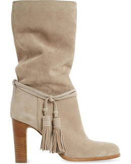 Ryleigh Tasseled Suede Calf Boots