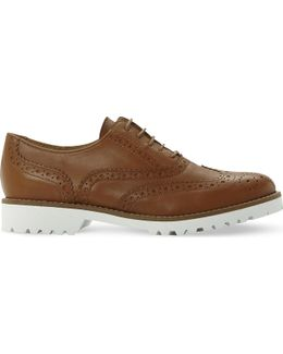 Fawna Leather Brogues