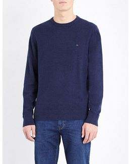 Pima Cotton And Cashmere-blend Jumper