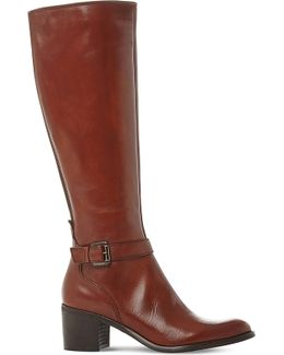 Tollie Leather Knee-high Boots