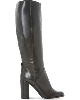 Rana Knee-high Leather Boots