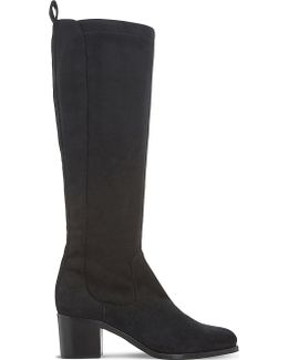 Teyla Suede Knee-high Boots