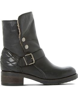 Pacho Lined Leather Boots