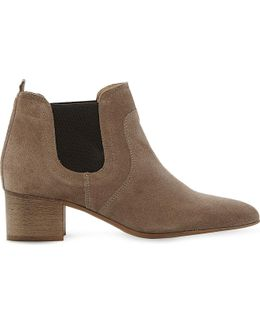 Perin Classic Suede Ankle Boots