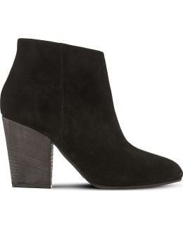 Patina Suede Ankle Boots