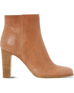 Oliva Leather Ankle Boots