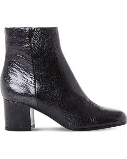 Orsen Patent Leather Ankle Boots