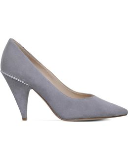 Whistles Suede Court Shoes