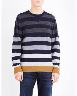 Brian Striped Knitted Jumper