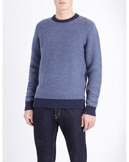 Kris Striped Wool-blend Jumper
