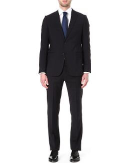 Virgin Wool Single-breasted Suit