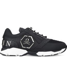 Hanzo Runner Leather Trainers