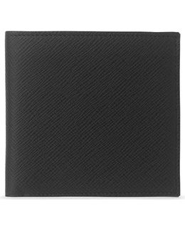 Panama Cross-grain Leather Eight Card Wallet