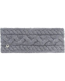 Cable Knit Wool-blend Headband