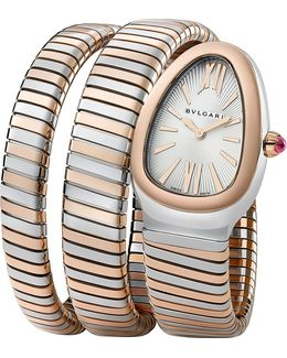 - Serpenti 18ct Pink-gold