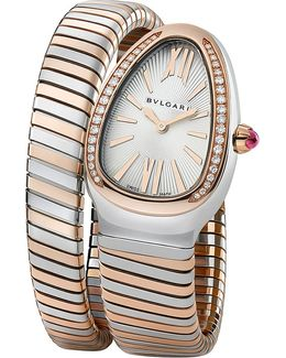 Serpenti 18ct Pink-gold