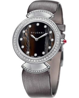 Divas' Dream 18kt White-gold And Diamond Watch