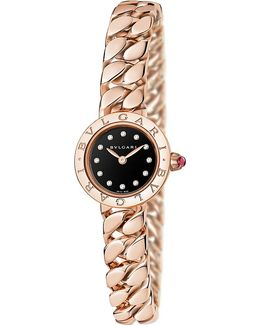 - Piccola Catene 18ct Rose-gold And Diamond Watch