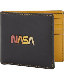Mens Nasa Glovetanne Leather Wallet And Card Holder