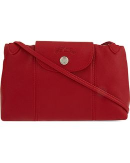 Le Pliage Cuir Cross-body Bag