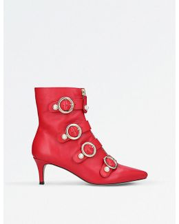 Sparky Leather Ankle Boots