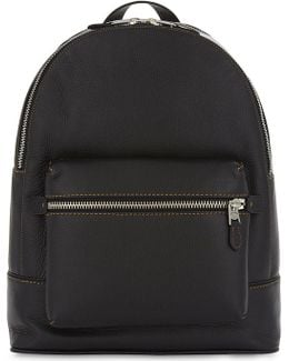 Mens Glove-tanned Leather Backpack