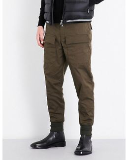 Regular-fit Cotton-twill Cargo Trousers